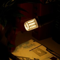 New E27 5W 36 LED SMD4014 Cover Corn Led Light Lamp Bulb 220V 240V 10PCS