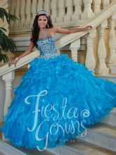 2017 Crystal Ball Gown Blue Quinceanera Dresses Sweetheat Sequined Cheap Vestidos De 15 Anos Sweet 16 Dresses for 15 Years QR155