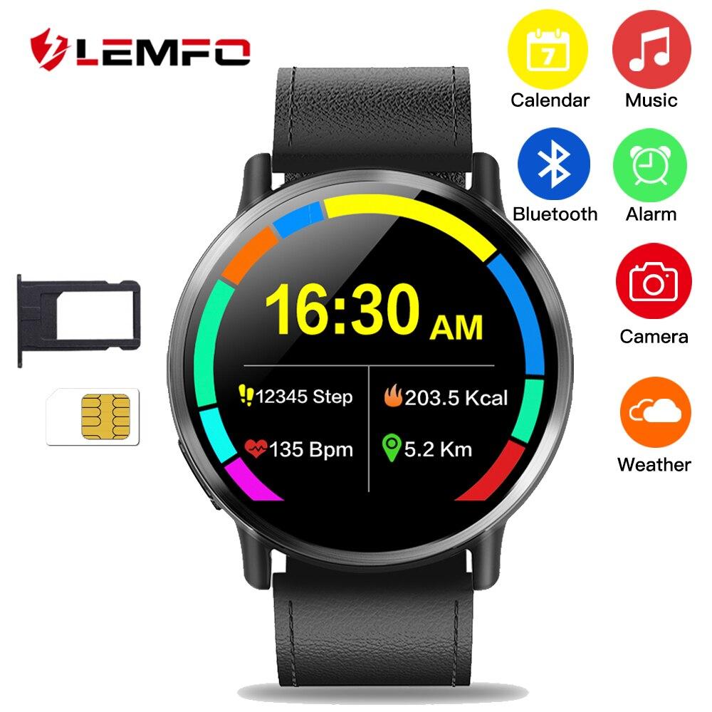 LEMFO LEM X Smartwatch Android 7,1 LTE 4G Sim WI-FI 2,03 дюймов 8MP Камера gps сердечного ритма IP67 Водонепроницаемый Смарт часы для Для мужчин Для женщин
