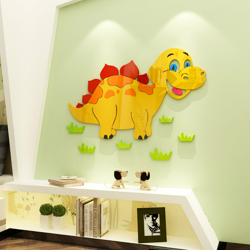 Best Birthday Christmas Gift Cute Dinosaur Design Colorful Acrylic ...
