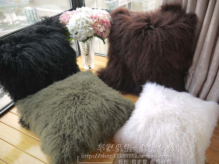 WonderFur Tibet Lamb Skin Rug For Home Decoration, Ningxia Sheep Fur Seat  Cushion Rug For Living Room