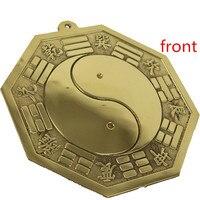 8 gua Lucky bronzen spiegel 11.5cm diameter ba gua Tai Chi Spiegel Roddels Spiegel Illusion Spiegel Essentie Spiegel Zegen decoratie