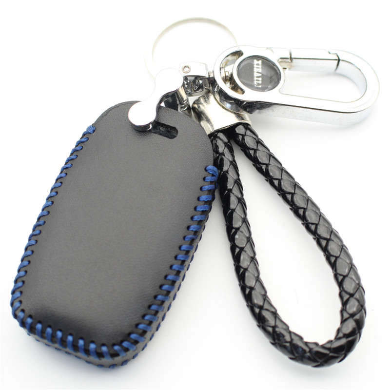 XIEAILI Lederen Auto Styling 3B Smart Key Case Cover Voor Kia KX3/KX5/K3S/Rio/ ceed/Cerato/Optima/Sportage/Sorento (B) m65