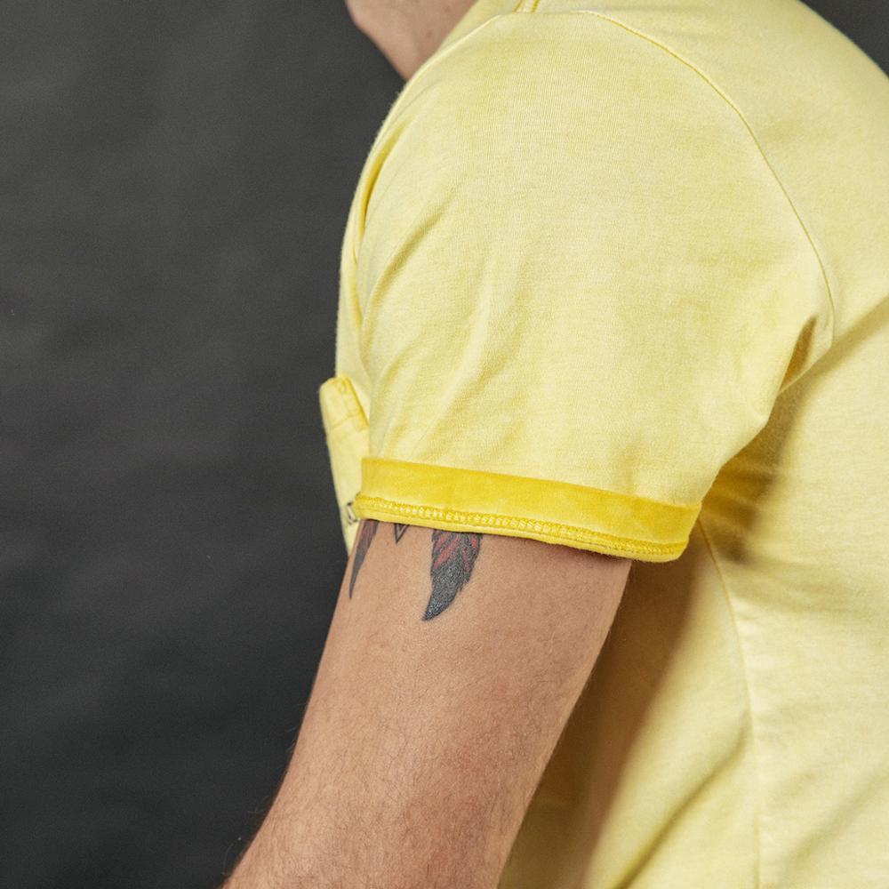 Image 5 - SIMWOOD 2020 summer new vintage t shirt men fashion washed letter print hip hop top 100% cotton tshirt plus size tee 190087T-Shirts   -