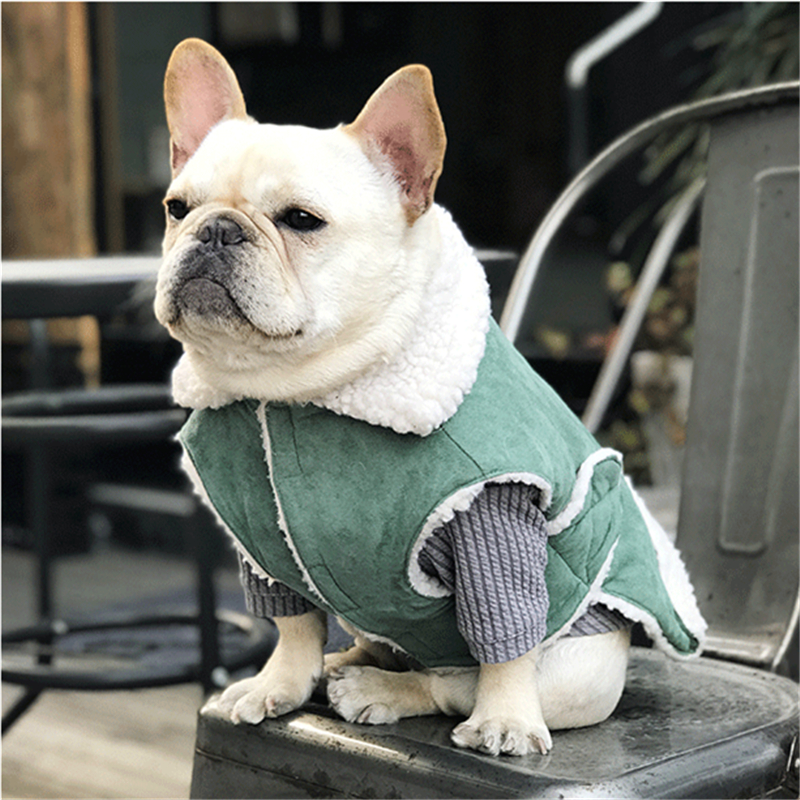 Dog Clothes Winter For Big Dogs French Bulldog And Big Dogs Pet Wear Only The Vest