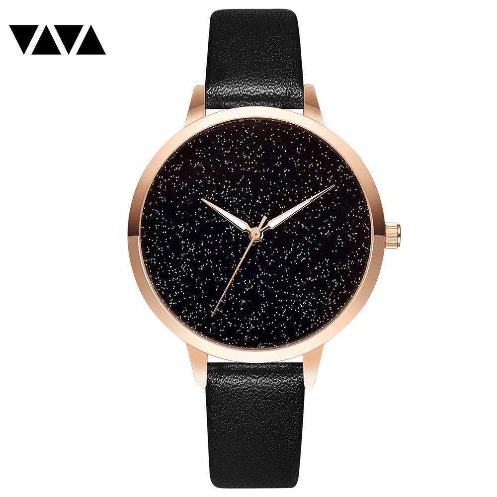 Montre Femme Women Bracelet Watches 2019 Star Sky Dial Clock Luxury Gold Ladies Quartz Wrist Watch New Bayan Kol Saati Relojes