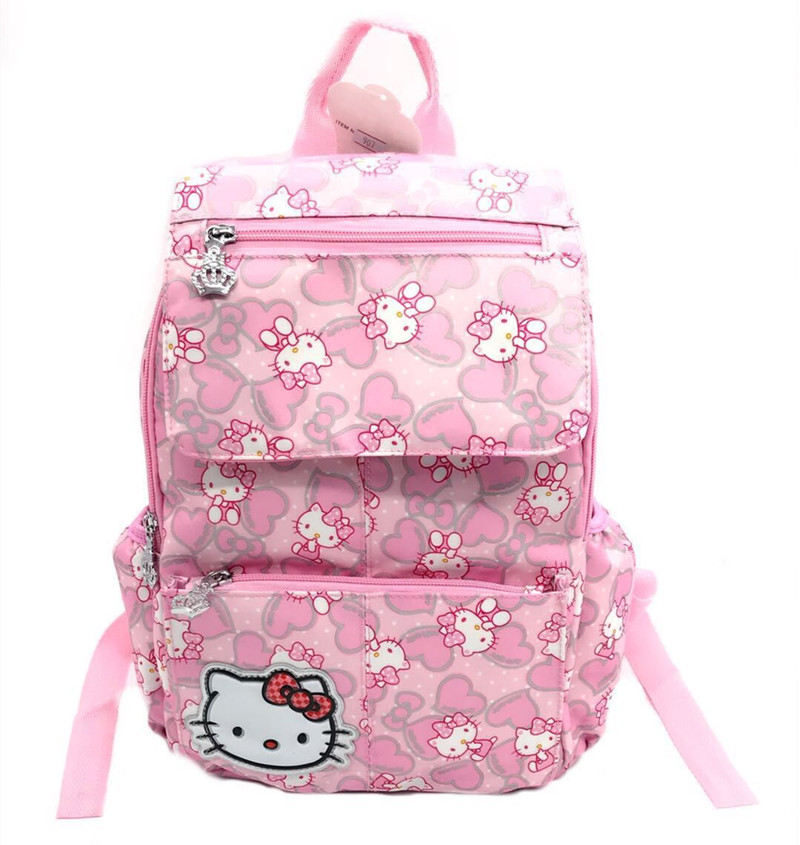Red//Black Hello Kitty Printed Girl Causal Hand Bag w//tag