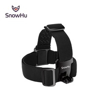 SnowHu for Head strap mount For Gopro Hero9 8 7 6 5 Xiaomi yi 4K Action Camera  For Eken H9 SJCAM for Go Pro Accessories GP23