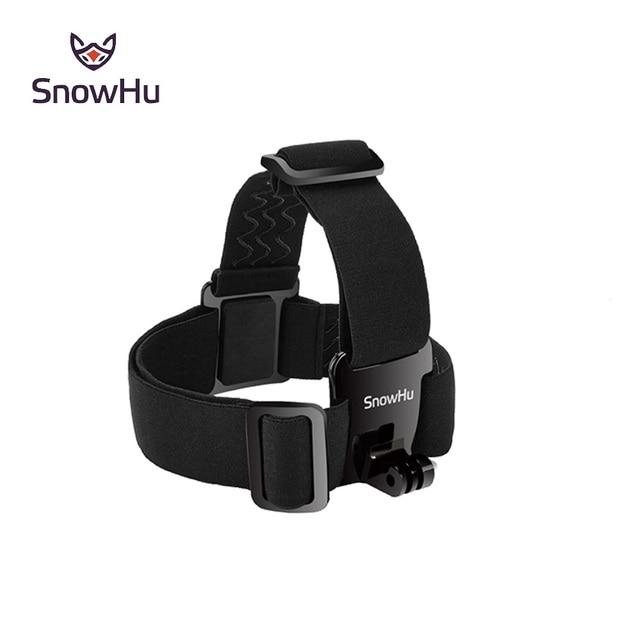 SnowHu עבור ראש רצועת הר לgopro Hero9 8 7 6 5 Xiaomi יי 4K פעולה מצלמה עבור Eken h9 SJCAM עבור אביזרי Pro GP23