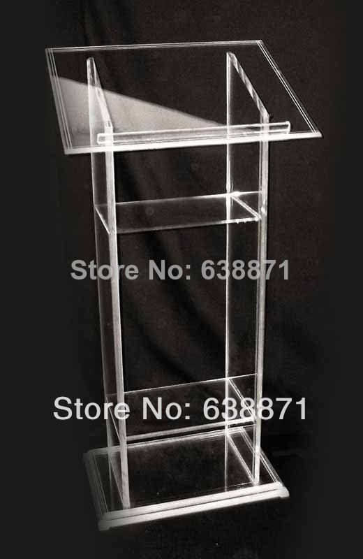 Free Shiping Hot Sell Pulpit Stand;Acrylic Podium Pulpit Lectern;Pulpit Designs