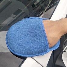 Карманная Вощеная круглая губка для увеличения полировки воска губка для воска автомобиля Чистящая губка из микрофибры