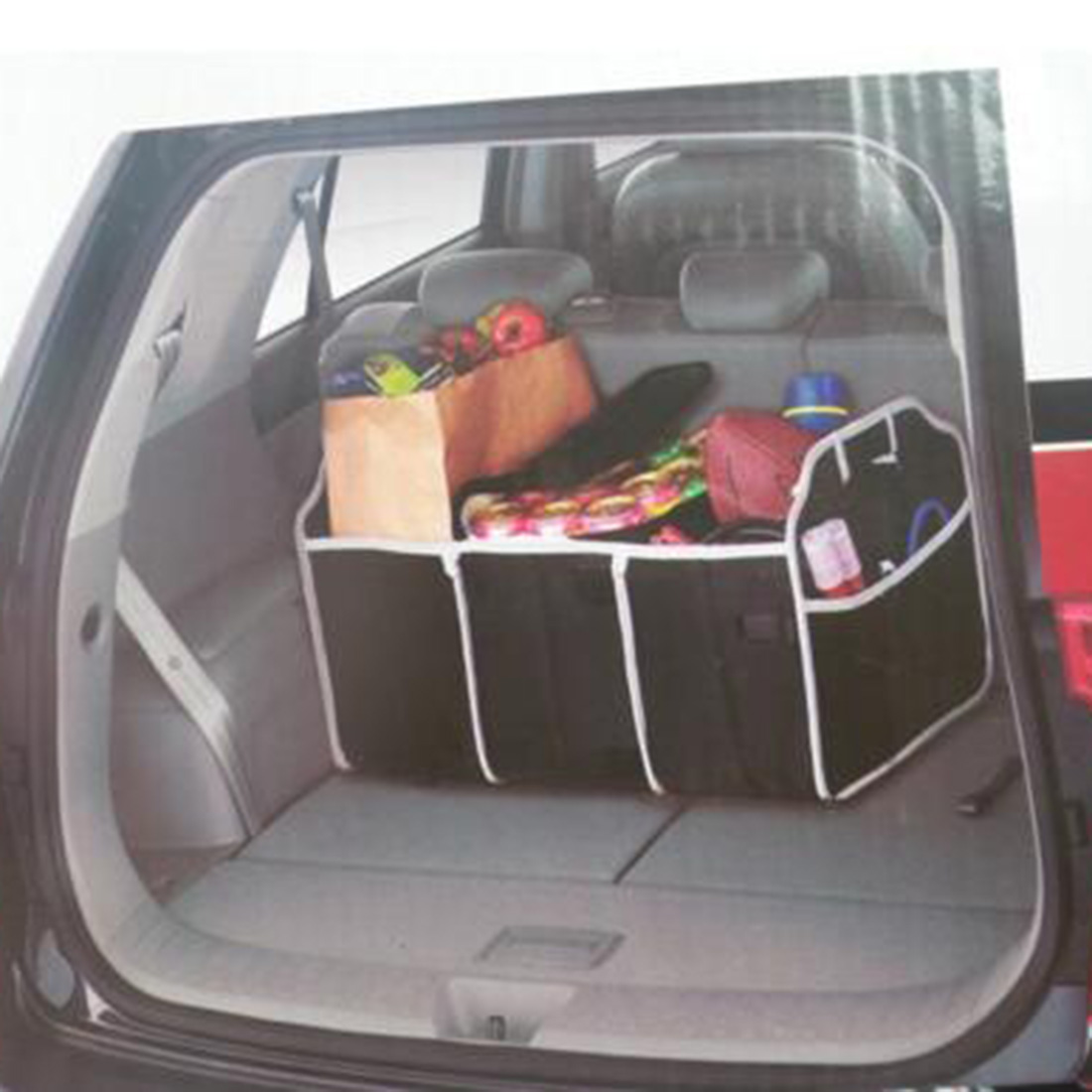 Delicate Auto Non-woven Organizer Speelgoed Voedsel Opslag Container Zakken Doos Auto Styling Auto Opbergen Opruimen Auto Interieur Accessoires