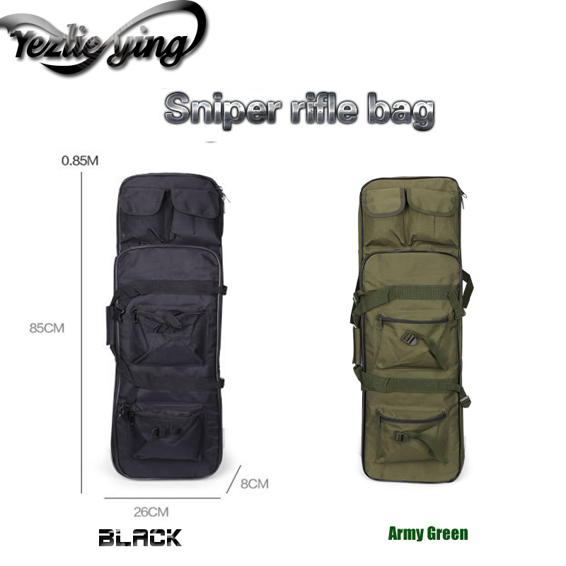 Airgun Air Rifle 85cm Gun Bag Case Backpack Military Hunting Dual case Square Carry Bags Outdoor Accessories