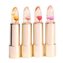 Kailijumei Make Up Jelly Lipstick Magic Color Temperature Change Moisturizer Bright Surplus Lip Balm Flower Lipstick Lip Care