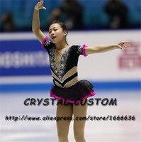 Crystal Custom Figure Skating Dresses Girls New Brand Ice Skating Dresses For Competition DR4548