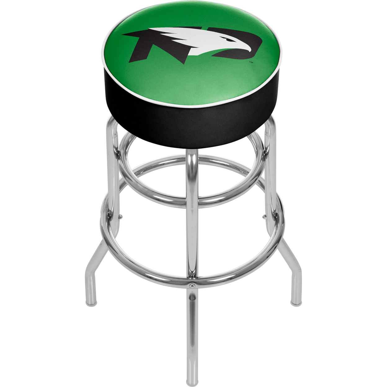 University of North Dakota Padded Swivel Bar Stool 30 Inches High