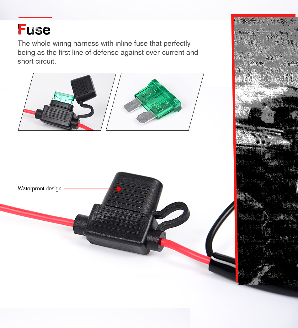 Offroad Led Work Light Bar Wiring Harness Relay Cable Switch Kit For Off Road Kits 02 03 04 05 06 Application Vehicle