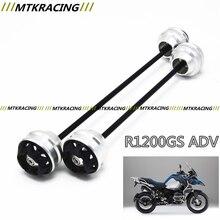 Бесплатная доставка для BMW R1200GS ADV 2005-2013 ЧПУ Изменение + Переднее колесо Мотоцикла падение мяч/амортизатор