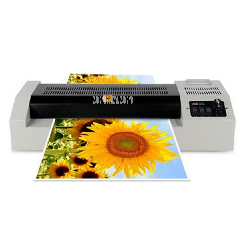3895 Laminating machine office gluing machine photo presses A3 household plastic laminating machine photo Laminator 220V/600W pvc a3 size pouch laminator film photo laminating machine