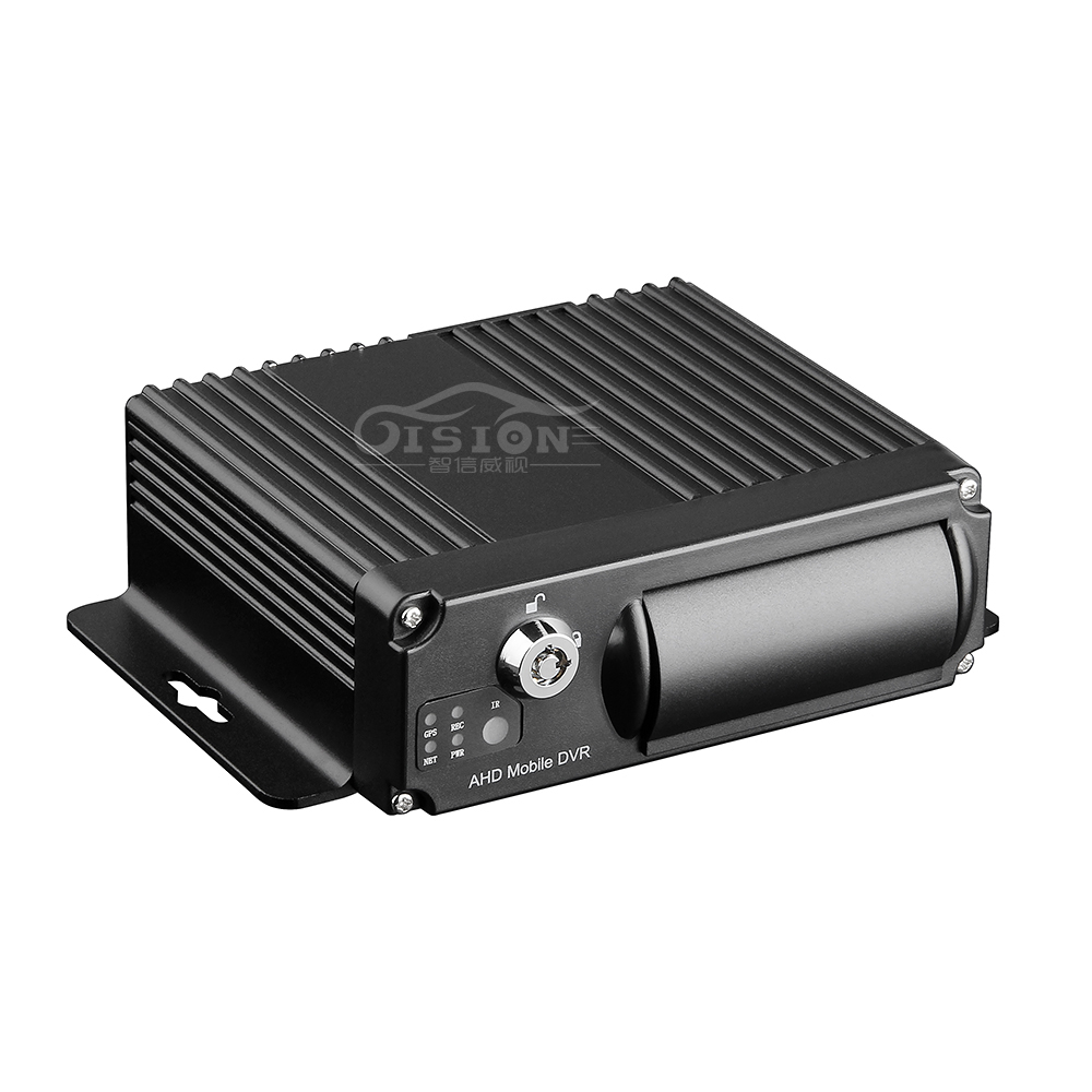 Remote Control SD HD 4CH DVR Realtime Video Recorder For Car Bus Truck 4CH Mobile DVR High Quality AHD MDVR/Dash Camera