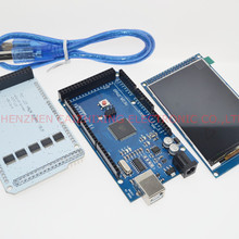 Arduino-Kit Mega 2560 with Usb-Cable for TFT Lcd-Touch R3