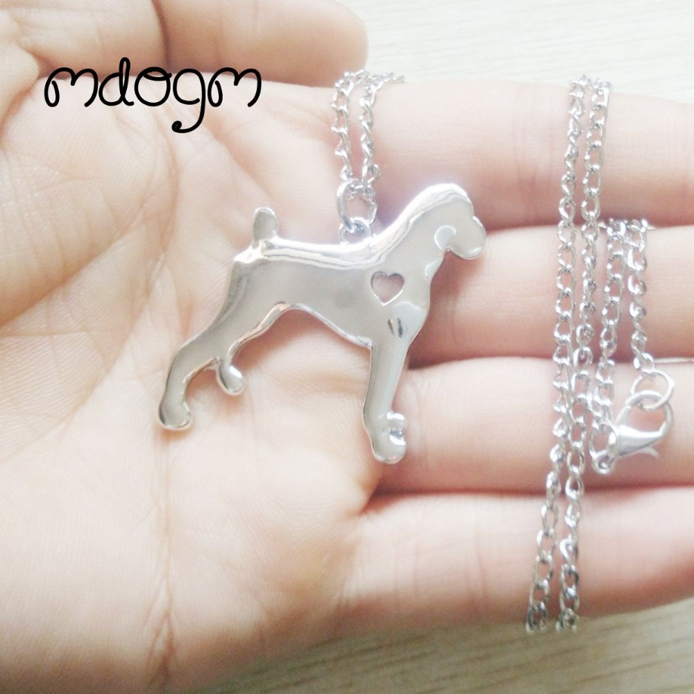 2018 American Bulldog Necklace Dog Animal Pendant Gold Silver Plated Jewelry For Women Male Female Girls Ladies Kids Boys N017