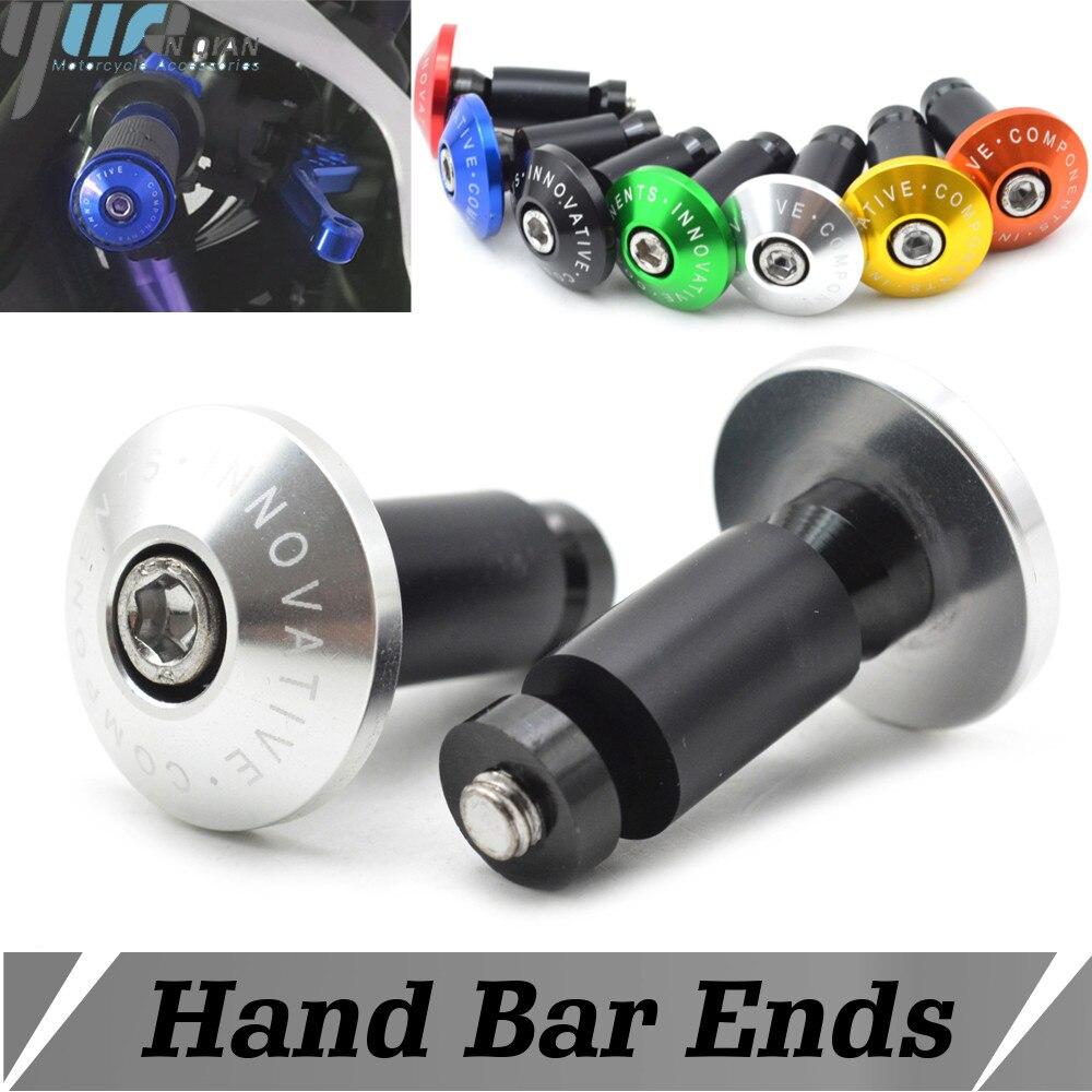 Motorcycle CNC Aluminum Handlebar Handle Grips Weights End Bar Cap Plug Slider for Honda CBR650F CB650F