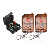 Mini Size Remote Control Switches Light Lamp LED Power Wireless Controller AC 220V 1CH 10A Relay