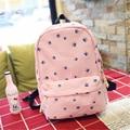 2017 Women Canvas Backpacks Leaves Leaf Printing School Bag For Teenagers Girls Large Shoulder Bag Sac A Dos Mochila Feminina
