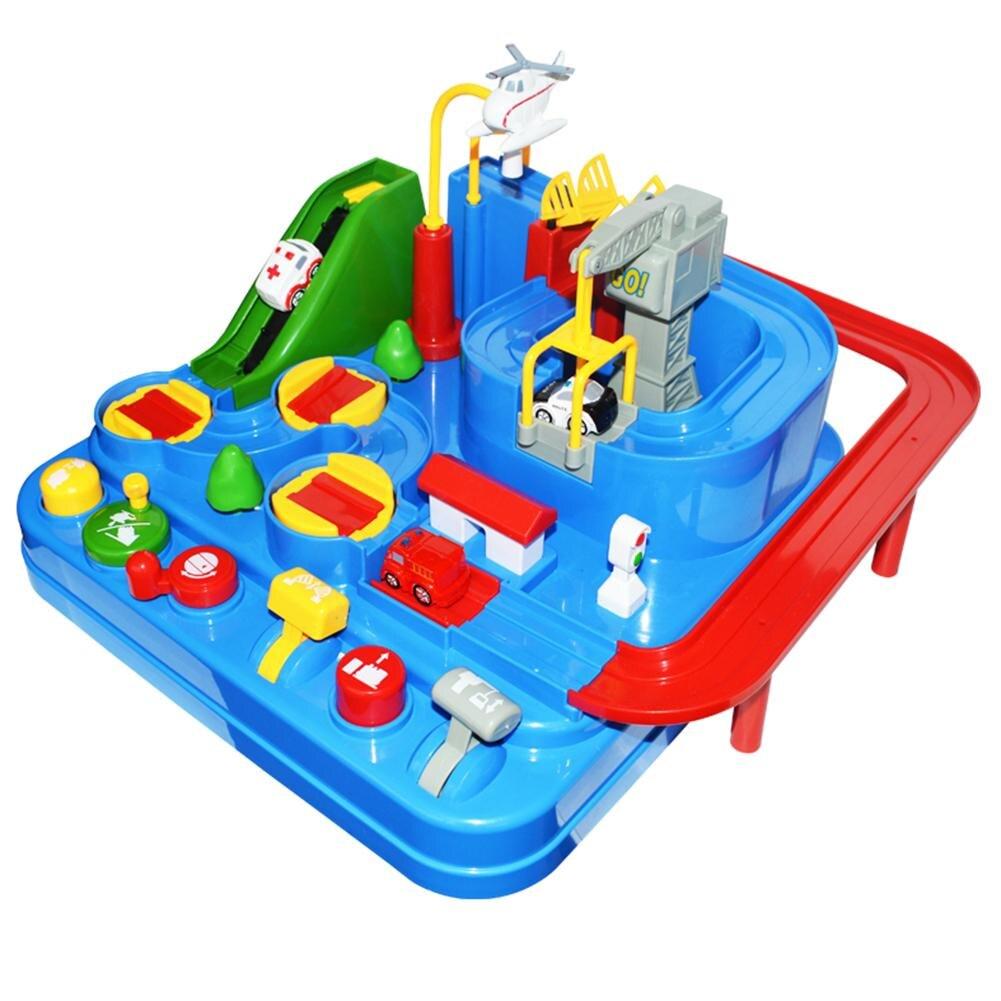 Tik Tok руководство механические трек автомобиля Приключения Развивающие игрушки для детей