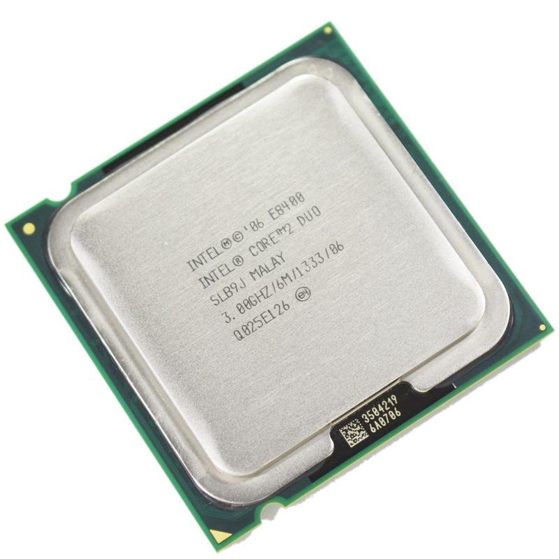 100% работает Intel Core 2 Duo e8400 Processor 3.0 ГГц 6 м 1333 мГц Dual-Core Socket 775 Процессор