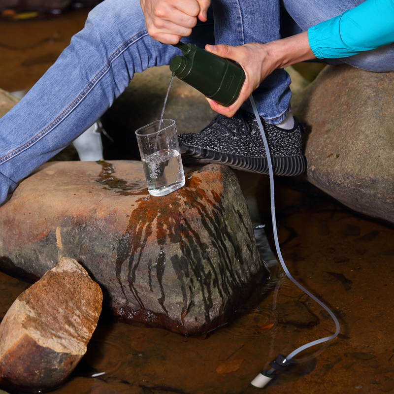 Personal Portable Water Filter/Water Purifier for Survival, Emergency, Camping, Hiking, military activities outdoor water filter water yifang