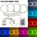 COLORFUL 5050 RGB FLASH LED ANGEL EYES de HALO ANILLOS Para BMW Serie 3 E46 (2 Puertas/Convertible) 1999-2001 # CA4325