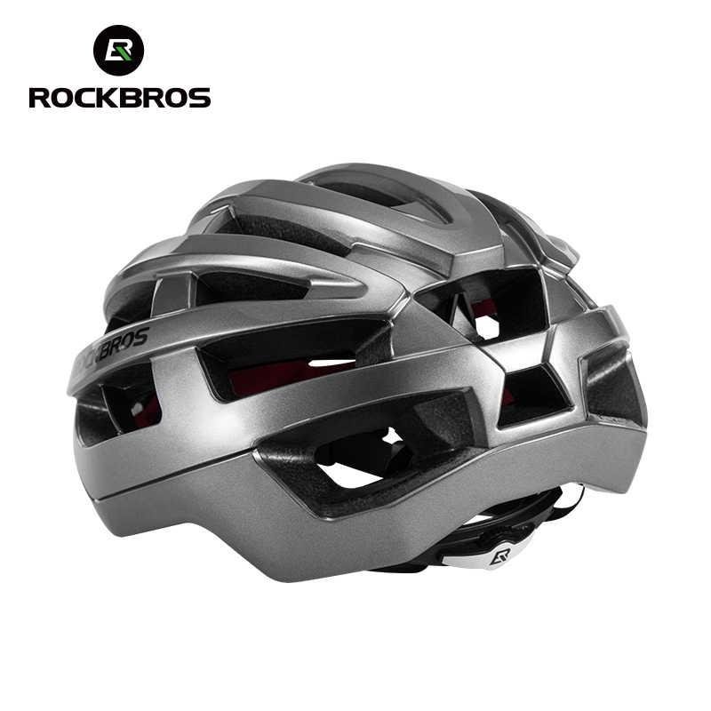 ROCKBROS Mũ bảo hiểm xe đạp đi xe đạp unisex siêu sáng integrally-Đúc bên trong điện xe đạp MTB xe đạp Aero Mũ bảo hiểm nắp an toàn thoáng khí thời trang khóa nam châm đường Mũ bảo hiểm đi xe đạp xe đạp Mũ bảo hiểm