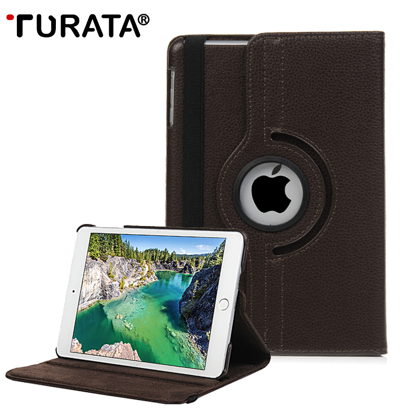 TURATA Cover For Apple iPad Pro 9.7 2016 Case PU Leather Flip Smart Stand 360 Rotating Brand Case Cover For IPAD Pro 9.7 (2016)
