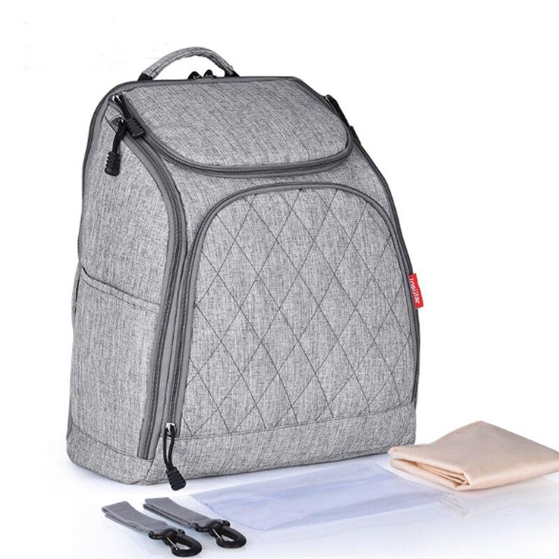 Baby Diaper Bag Backpack Fashion Mummy Maternity Nappy Bag Large Capacity Baby Bag Travel Designer Nursing