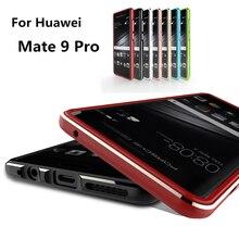 Для Huawei Mate Pro 9 case Luxury Делюкс Ультра Тонкий алюминиевый Бампер Для Huawei Mate 9 Pro 5.5-дюймовый + 2 фильм (1 Спереди и 1 Сзади)