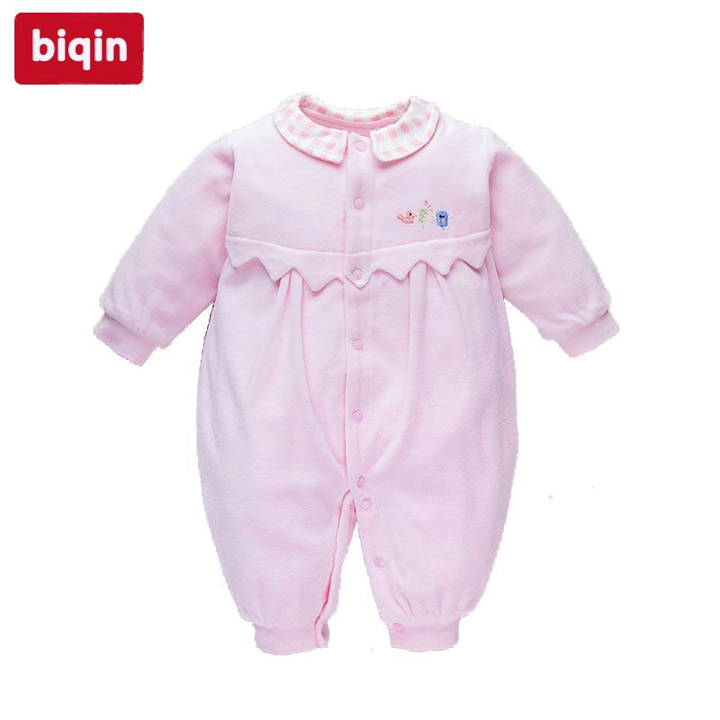 Biqin 3M 9M boys girls clothes rompers baby children kids