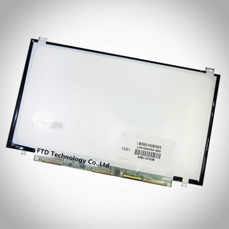 New 12.5/'/' LED LTN125AT03-803 Laptop Screen For Samsung NP350U2B-A04 /& NP400B2B
