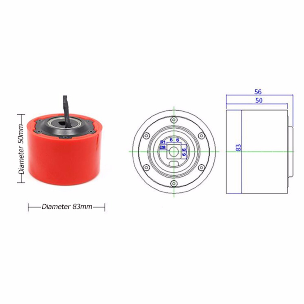 8352 1PCS 24v 36v 260W Electric Skateboard Motor Wheel for Electric Remote  Control Scooter Skateboard DIY-in Parts & Accessories from Toys & Hobbies  on ...