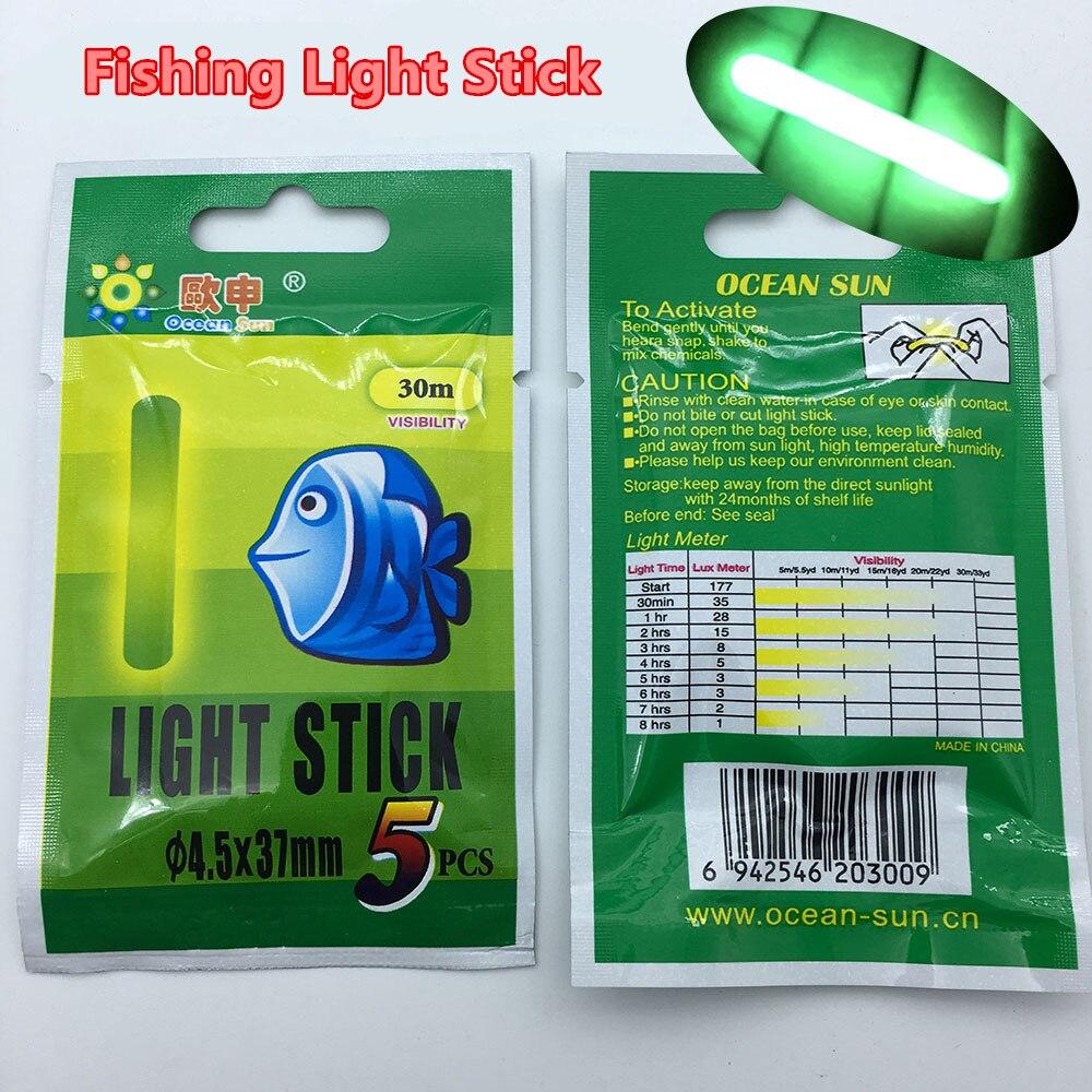25pcs/5bag Fishing Float Light stick Fishing Rod Tip Bait Alarm Night Fish Bobber Glow Stick visible 15m 3.0x25mm 30m 4.5*37mm 10pcs fishing rod tip twin bells ring fish bait alarm green silver