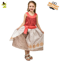 Girl's Clothes Princess Dress Moana Cosplay Costume for Children Vaiana Girls Party Christmas Girl's Moana Dress Costumes