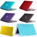 Кристалл/Матовый Жесткий Футляр Для macbook air pro 13 11 12 15 Retina Ноутбука Сумка Protector Для apple Macbook 13 15 распространяется на случаи