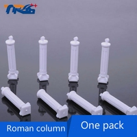 DIY Building Sand Table Landscape Model Material Accessories Roman Column Different Specifications