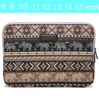 Retro Canvas Laptop Case Bag For Macbook Pro Air Retina 11 12 13 14 15 Inch
