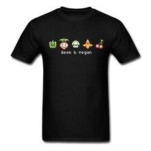 """""""Geek & Vegan"""" men's t-shirt / 11 colors"""