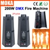 2 Pcs Lot Hot Sale Chinese Wholesaler 6 Head Stage Effects Flame Machine Dmx Fire Projector