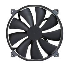 ALLOYSEED ventiladores de refrigeración para PC, disipador de calor de 20cm con carcasa de 12V, 0.25A, 17.52CFM, chasis de ordenador, ventilador enfriador de CPU, disipador de ruido de 25dBLow