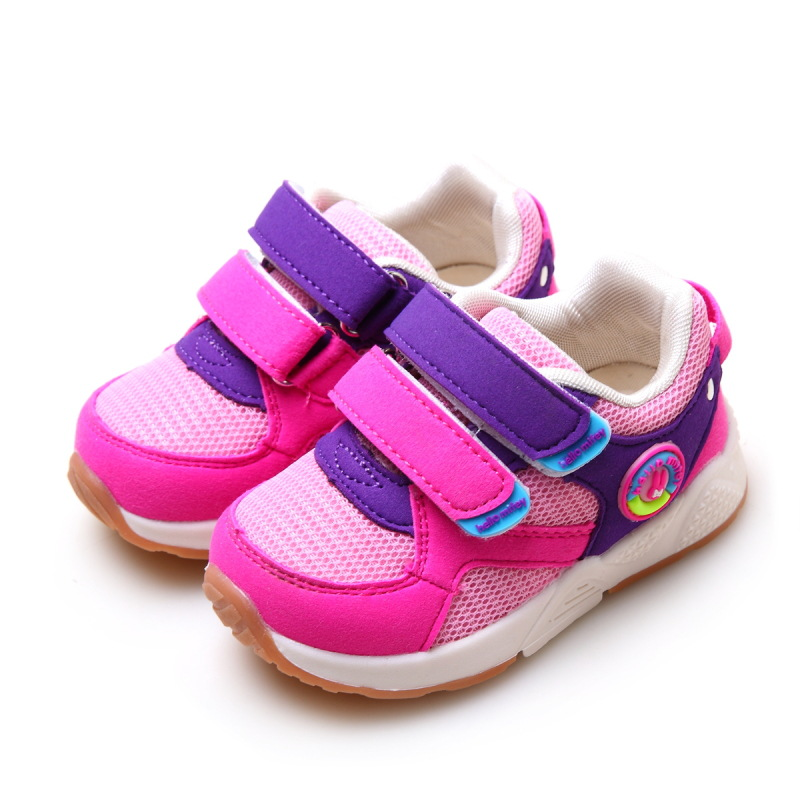 autumn children boys girls sport shoes double hook & loop kids shoes high quality fashion sneakers for kids