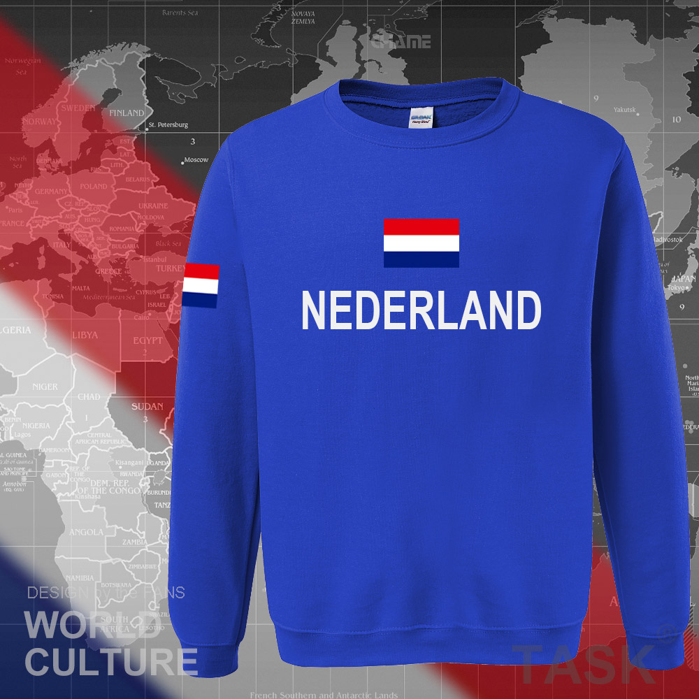 Netherlands Nederland 2017 hoodies men sweatshirt sweat new streetwear clothing jerseys tracksuit nation Holland flag Dutch NL 3